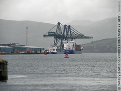 Greenock container terminal
