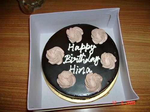 Chocolate Walnut Birthday Cake A Photo On Flickriver