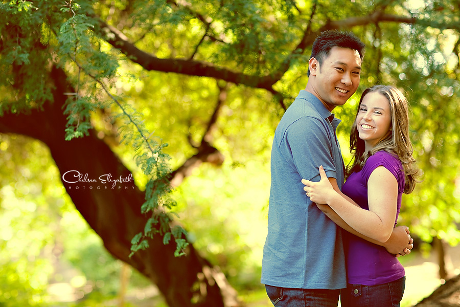 Engagement Photography UCLA Botanical Gardens