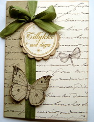 Birthday card (madsen.lisette) Tags: writing antique cg120