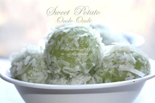 Sweet Pootato Onde-Onde 2