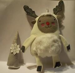 Rudolph (metro-station) Tags: christmas reindeer plush softie ornament rudolph