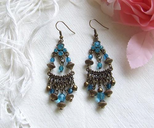 Inspiração India...earrings XXIII