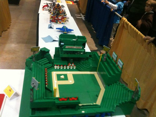 Fan-submitted model at the Hartford LEGO Kidsfest