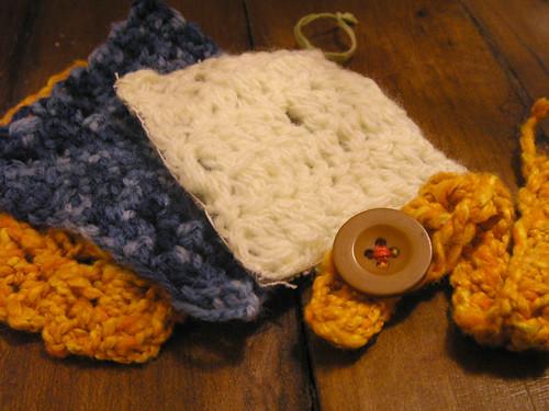 Projetinhos de crochê
