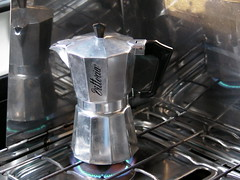 Moka Pot Close-Up