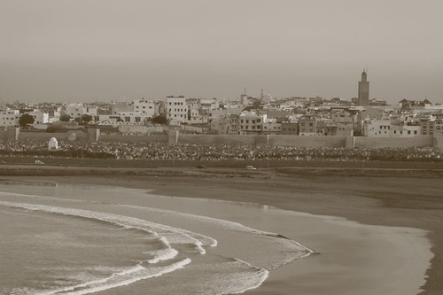 View of Sale from Rabat's kasbah...