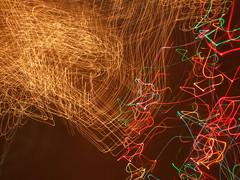 such weird shapes this light made (alinamatters) Tags: christmas cameratoss lighttoss