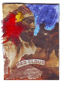 Red Cloud - Riding with the wind!