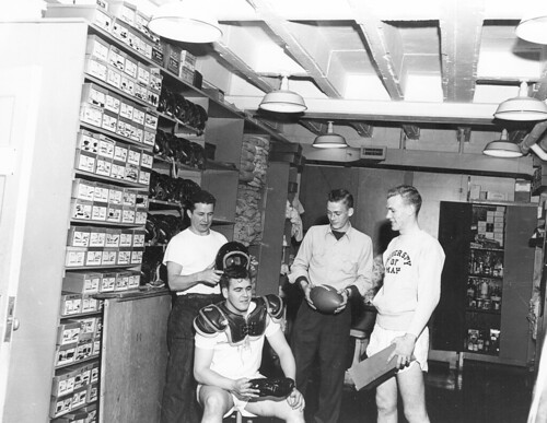099 Sports Equipment Room in Fieldhouse 1953