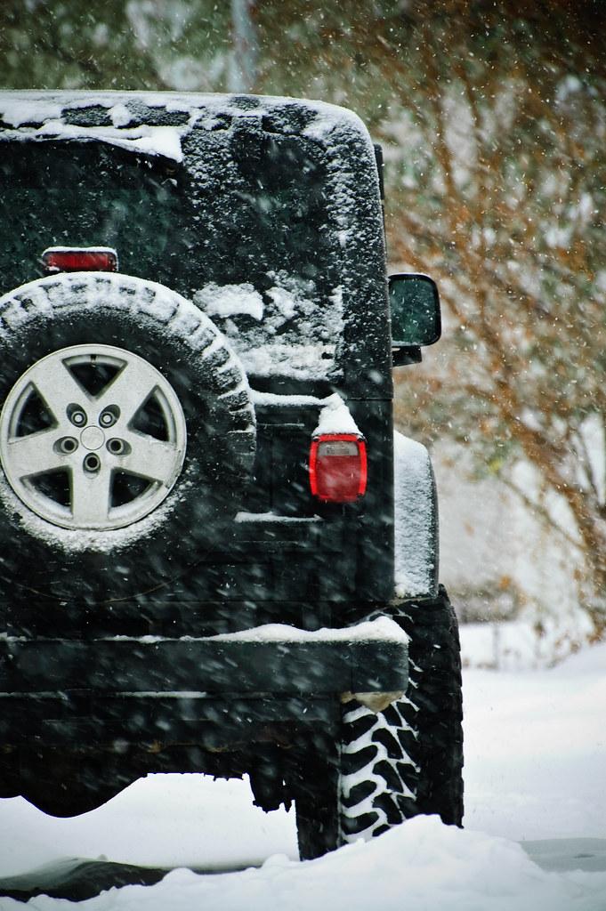 Wrangler in the Snow