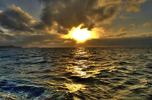 フリー写真素材, 自然・風景, 海, 夕日・夕焼け・日没, オーストラリア,