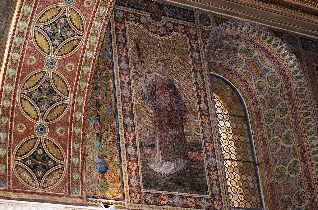Rom, San Lorenzo fuori le Mura, Grabkapelle Pius IX. (St. Lawrence outside the Walls, grave chapel of Pius IX.)