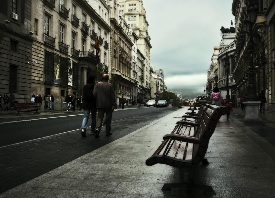 Por la calle de Alcalá...