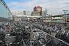 Bikes at Nagano Station - Nagano, Japan (JohannSchmidt) Tags: tower castle japan jo matsumoto nagano naganoprefecture 松本城 matsumotojo matsumotocastle hirajiro