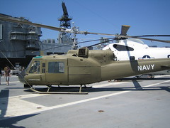 UH-1B Iroquois (biomckill) Tags: museum airplanes huey midway uss aircrafts iroquois uh1 uh1b