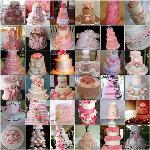 Pink Cake Mosaic 6
