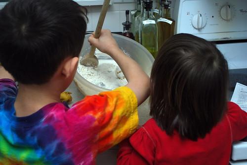Stirring Up Banana Pancakes