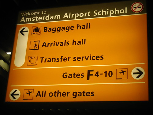 Transit at Amsterdam Schiphol Airport