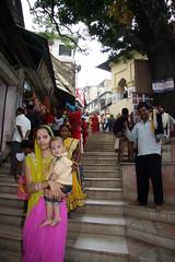 At the Kamakhya mandir, Guwahati (sensaos) Tags: people india temple asia north east shiva hindu assam northeast 2009 mandir guwahati azie noord oost azi eas kamakhya