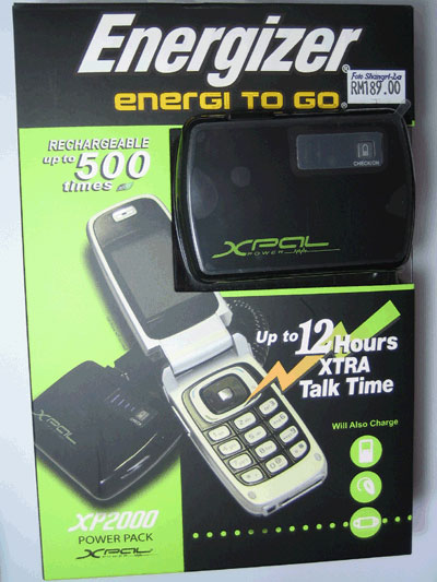 Energizer XPAL Power XP2000