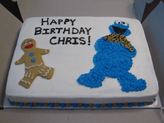 Cookie monster birthday cake florence ky