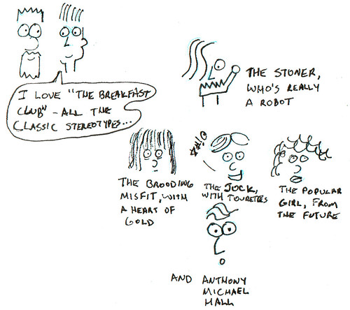 366 Cartoons - 329 - The Breakfast Club