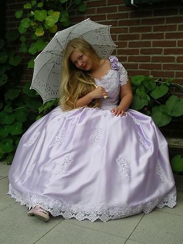 girl beauty lady shiny dress purple silk gown satin ballgown laverder