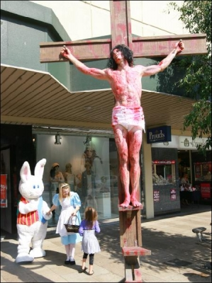 Geelong Easter Demonstration