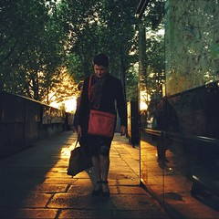 City of Lights (VLBPhotography) Tags: sunset paris france film dusk atmosphere filmcamera kodakportra800 meidumformat rolleiflext