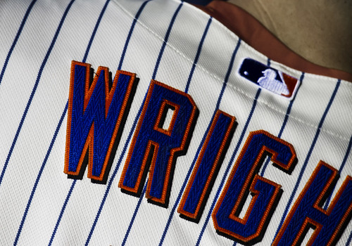 David Wright jersey by Michael G. Baron
