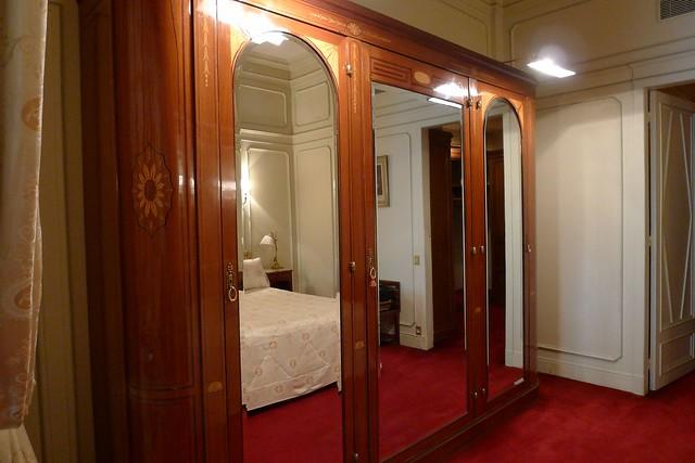 Wardrobe in Paris Bedroom