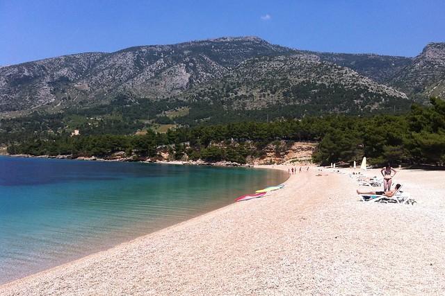 Zlatni rat beach, croatia, bol travelzin