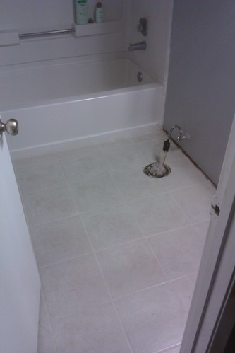 61 Grouted and Tape Removed