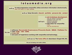 lotusmedia, circa 2002