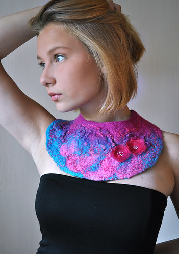 Felted Collar by ShellenDesign
