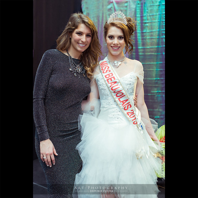 Laury Thilleman & Irène Cottinet, Miss Beaujolais 2013