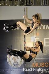 Pole Dancing (krashkraft) Tags: 2015 allrightsreserved bangkok beautiful beauty bodybuilding dancer gorgeous krashkraft muscle musclephysiquechallenge physique poledancing pretty seaconbangkae sexy thailand krungthepmahanakhon th