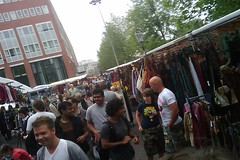Love the markets in Amsterdam, just too bad I did not find anything