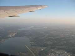 Take off from Dallas/Fort Worth