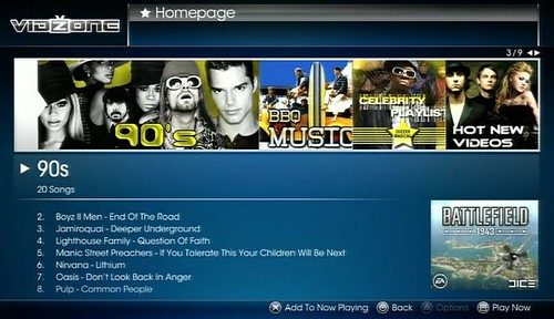 VidZone - 90s Playlist, 02-09 July