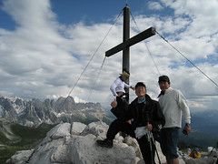 Summit! Monte Pez, Alpe di Siusi, Seisler Alm, Dolomites, Dolomiti trekking