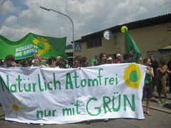 Grüne Jugend Stuttgart gegen Atom