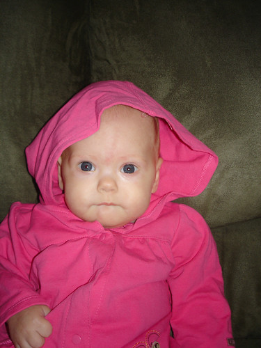 Little pink riding hood