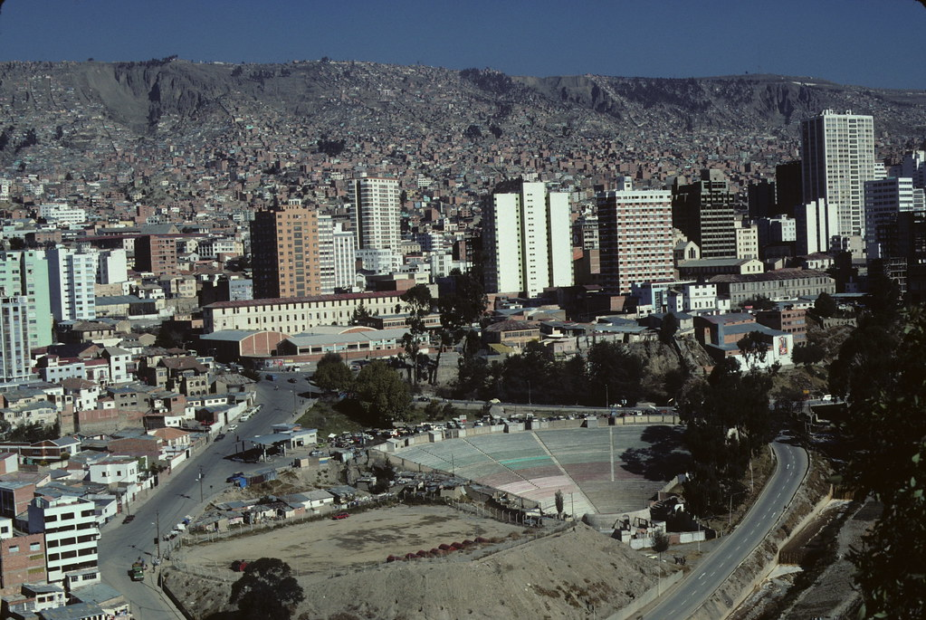 La Paz, Capital of Bolivia