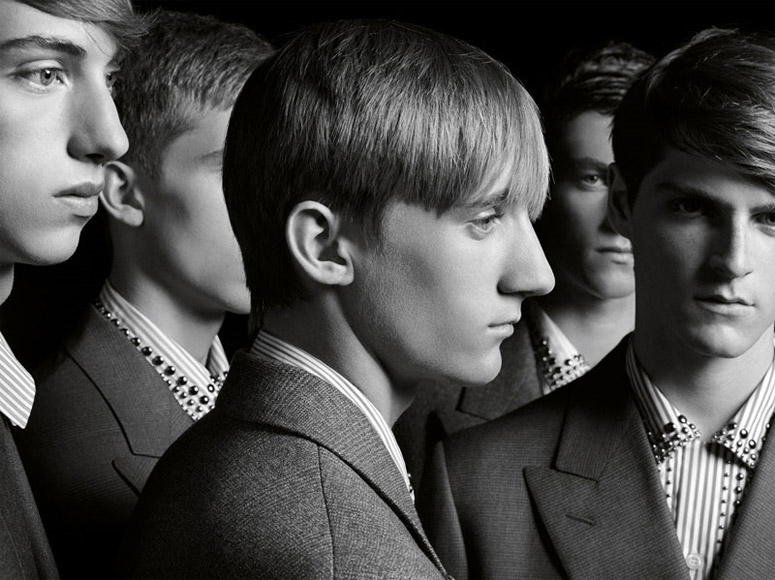 001 Prada Men Fall 2009 by Hedi Slimane
