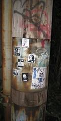 (theres no way home) Tags: street original chicago art collage graffiti design sticker artist postalsticker vinyl andrethegiant shepardfairey abrahamlincoln levy yob fik onetermpresident bigmini mfchicago graffitisticker 3phaze rudebuoy igotpapers itsblago barcodeobama