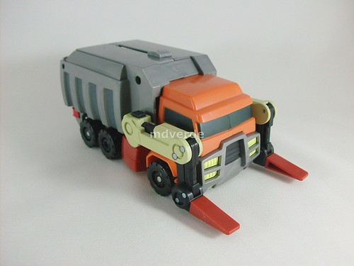 Transformers Wreck-Gar Animated Voyager - modo alterno