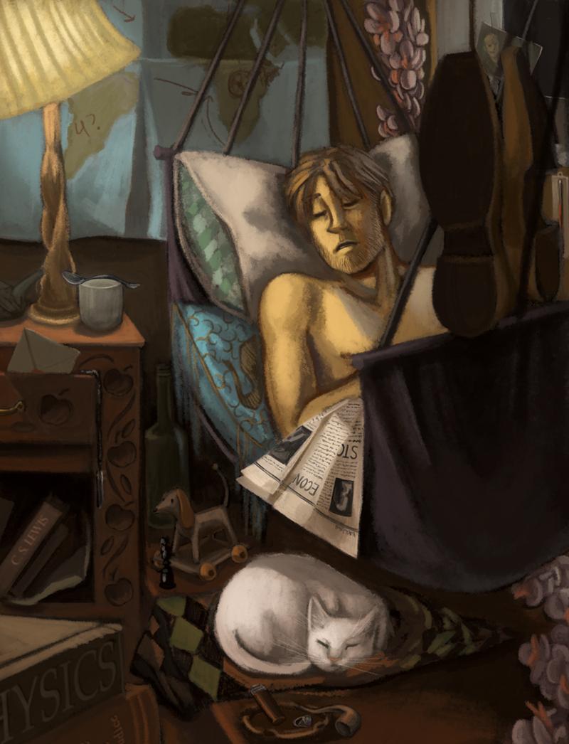 Kipling's room
