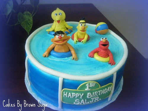 Sesame Street Pool Party